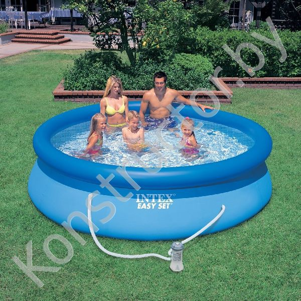 intex 56922 28122 easy set pool 305 76. Black Bedroom Furniture Sets. Home Design Ideas