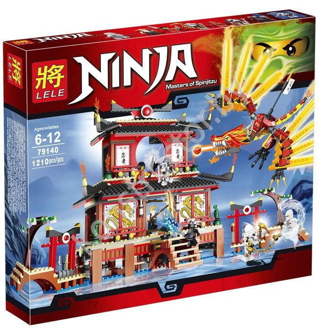 Конструктор Bela Ninjago Засада На Мотоцикле 298 дет. 10395