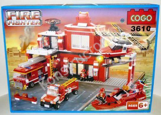 Аналог лего пожарная часть