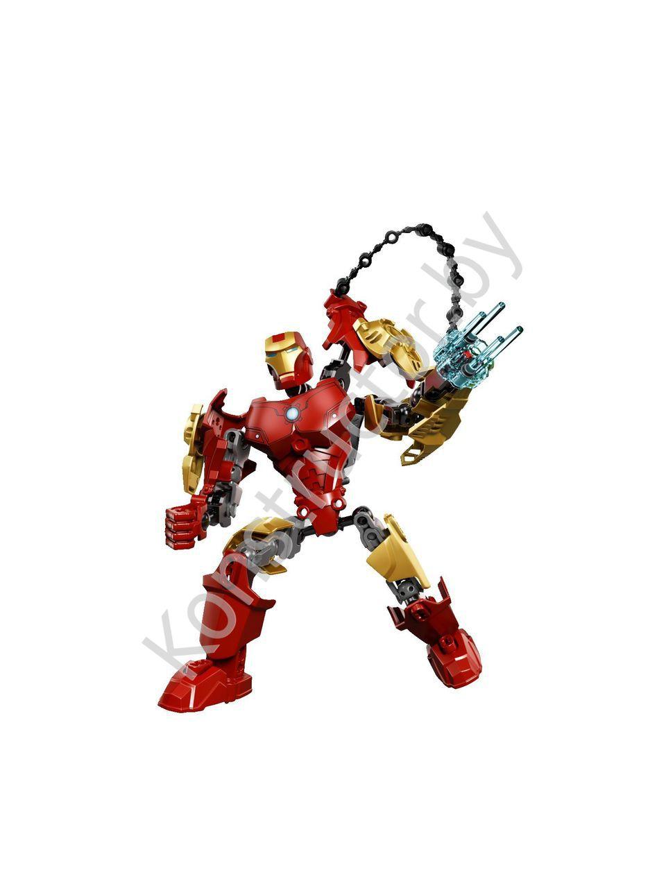 Heroes супергерои 4529 avengers iron man железный