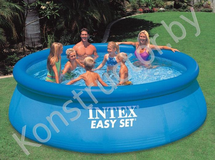 intex 56930 28144 easy set pool 366 91. Black Bedroom Furniture Sets. Home Design Ideas