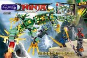 LELE-31053-in-blocks-493pcs-movie-series-lloyd-s-Machine-dragon-Super-Heroes-Building-Block-bricks