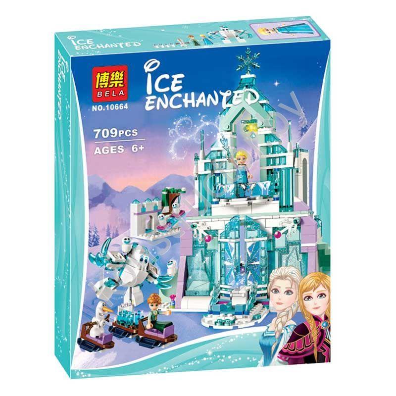 Конструктор лего замок холодное сердце