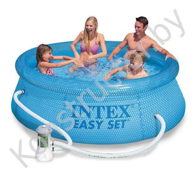 intex 54912 easy set pool 244 76. Black Bedroom Furniture Sets. Home Design Ideas