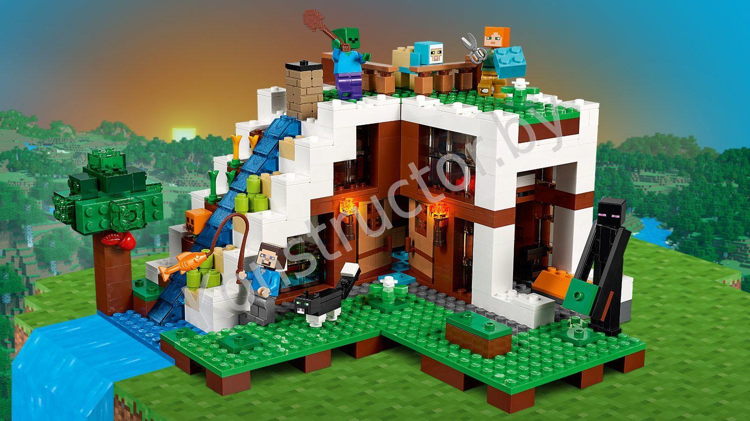 Аналог лего minecraft