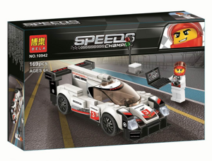 Конструктор Speeds Champion Porsche 919 Hybrid, Bela 10942 аналог Lego 75887