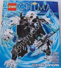 Конструктор Zimo 70212А Legends of Chima (Легенды Чимы) Чи Сэр Фангар Chi Sir Fangar аналог Лего (LEGO) купить в Минске