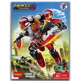 Конструктор Decool 10502 Hero 6 Star Soldier Реактивная машина Фурно аналог Лего (LEGO) 44018 Hero Factory