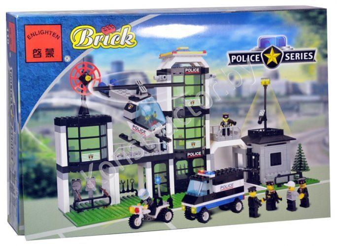 Купить лего конструктор полицейский участок
