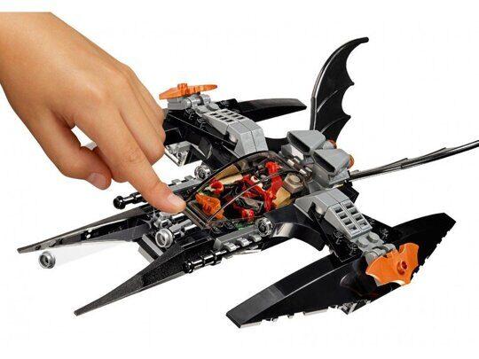 Constructor Batman: Liquidation Eyes brother Bela 11023, analog Lego Superheroes 76111
