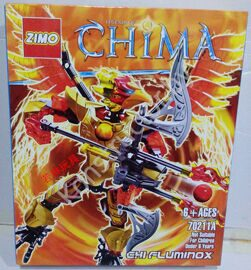 Конструктор Zimo 70211А Legends of Chima (Легенды Чимы) Чи Фламинокс Chi Fluminox аналог Лего (LEGO) купить в Минске