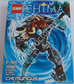 Конструктор Zimo 70209А Legends of Chima (Легенды Чимы) Чи Мангус Chi Mungus аналог Лего (LEGO) купить в Минске