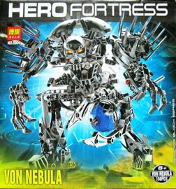 Конструктор Bela Hero Factory Робот - воин Фон Небула 156 дет. 9904 аналог Лего Герои Lego Hero Factory 7145