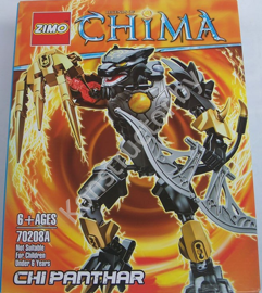 Конструктор Zimo 70208А Legends of Chima (Легенды Чимы) Чи Пантар Chi Panthar аналог Лего (LEGO) купить в Минске