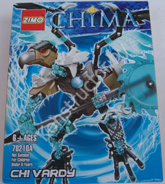 Конструктор Zimo 70210А Legends of Chima (Легенды Чимы) Чи Варди Chi Vardy аналог Лего (LEGO) купить в Минске