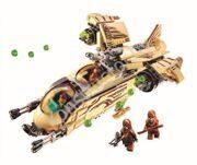 Новый-Bela-10377-Звездных-Войн-Вуки-Вертолета-Модель-Строительные-Блоки-Устанавливает-Wullffwarro-Кенан-Кирпича