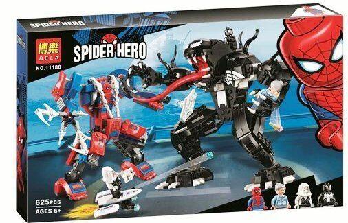 Лего Марвел Конструктор Человек-паук против Венома, Bela ...