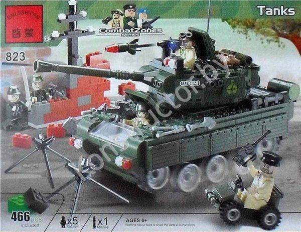 Аналог лего танк