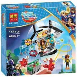 Вертолёт Бамблби Bela 10614, аналог lego DC Super Hero Girls 41234