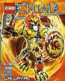 Конструктор Zimo 70206А Legends of Chima (Легенды Чимы) Чи Лавал Chi Laval аналог Лего (LEGO) купить в Минске