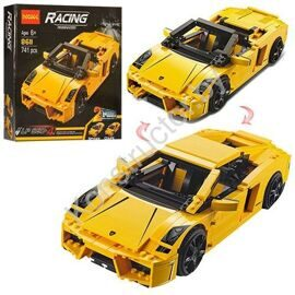 Конструктор Decool 8611 Lamborghini Gallardo LP560-4, аналог Лего Техник LEGO Technic 8169